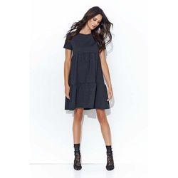 bdf67ffd4f suknie sukienki dresowa sukienka falbanka - porównaj zanim kupisz