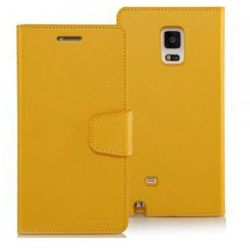 Mercury Etui SONATA LG G żółte, notes