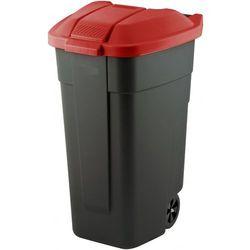 Pojemnik gospodarczy z pokrywą CURVER 110L Czarno-Czerwony + DARMOWY TRANSPORT!