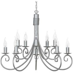 Żyrandol LAMPA wisząca NOW5420 świecznikowy ZWIS metalowy IP20 maria teresa srebrny