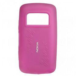 Etui Silikonowe Nokia CC-1013 Purple do C6-01 - Fioletowy