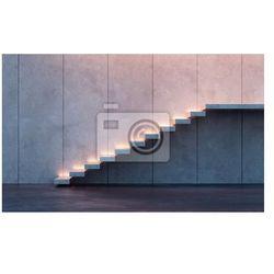 Fototapeta podświetlane schody