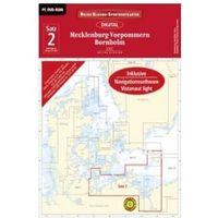 Delius Klasing-Sportbootkarten Mecklenburg-Vorpommern, Bornholm, DVD-ROM