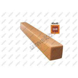 DĄB-Poręcz 40x40mm długość 2000mm nielakierowany D