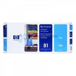 HP oryginalny głowica drukująca C4951A, No.81, cyan, HP DesignJet 5000, PS, UV, 5500, PS, UV