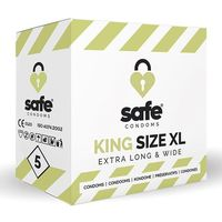 Prezerwatywy XL - Safe King Size XL Condoms 5 szt