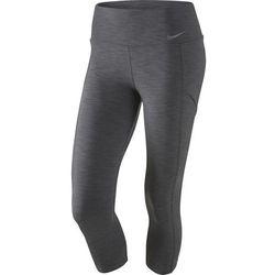 spodnie tenisowe damskie NIKE BASELINE CAPRI / 728787-021 - NIKE BASELINE CAPRI Promocja (-30%)