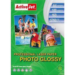 Papier fotograficzny błyszczący AP4-160G100L- A4 - 160 m - 100szt.