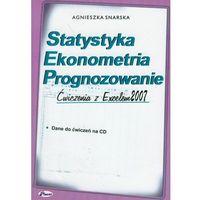 Statystyka Ekonometria Prognozowanie Ćwiczenia z Excelem 2007 z płytą CD - Wysyłka od 4,99 - porównuj ceny z wysyłką (opr. miękka)