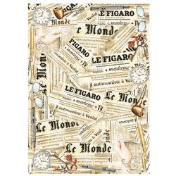 Papier do decoupage Stamperia 50x70cm LE MONDE