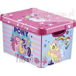 Pojemnik pudełko na zabawki Kucyki My Little Pony new