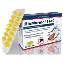 BioMarine 1140 olej z wątroby rekina, 60 kapsułek