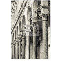 Fototapeta Duomo of Cremona - arcade