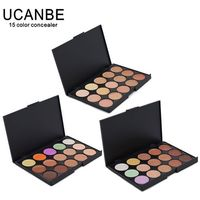 Special Professional 15 Color Concealer 15 colors Facial Face Cream Care Camouflage Makeup base Palettes set Cosmetic