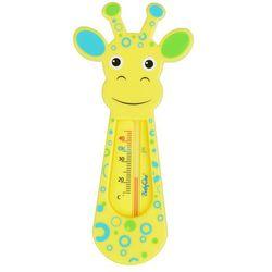 Termometr do kąpieli - żółta żyrafa