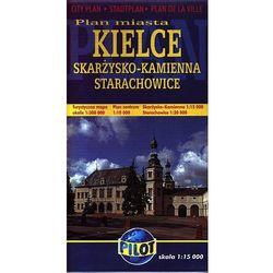 Kielce. Plan miasta w skali 1:15 000 (opr. broszurowa)