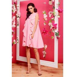 55594a06bd suknie sukienki sukienka soho z dwoma falbanami (od Sukienka z ...