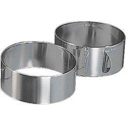 Regulowany pierścień na ciasto ze stali nierdzewnej 16,5 - 32 cm. APS 00040