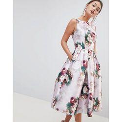 b079533c36 suknie sukienki chi chi london liviah sukienka z haftem - porównaj ...