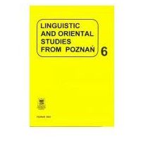 Linguistic and oriental studies from Poznań cz.6 (opr. miękka)