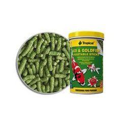 TROPICAL Koi & GoldFish Vegetable Sticks - pokarm roślinny w pałeczkach dla ryb stawowych worek 1l/90g