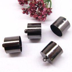 Metalowe oksyda - końcówki do linek rzemieni 13,5mm(para)