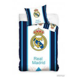 Pościel Piłkarska Real Madryt 160x200 Herb nowa kolekcja