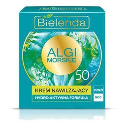 Krem przeciwzmarszczkowy nawilżający 50+ Algi Morskie 50ml Bielenda