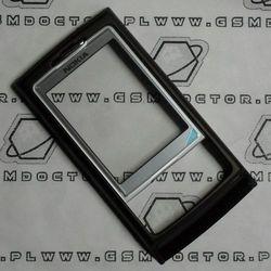 Obudowa Nokia 6270 przednia ciemnobrązowa