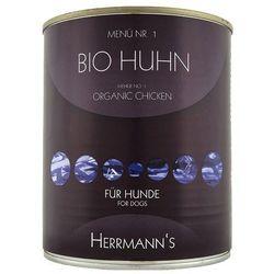 Herrmanns Bio-Menu, 6 x 800 g - Kaczka z batatem, dynią i olejem z wiesiołka