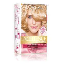 Excellence Creme farba do włosów 9 Bardzo jasny blond
