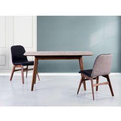 Stół brązowy - rozkładany - 120-150x75 cm - kuchenny - do jadalni - MADOX