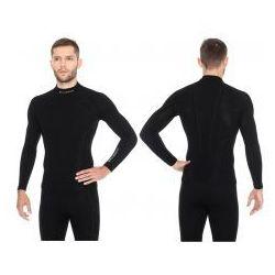 5d88237d3671 BRUBECK Bluza termoaktywna męska 1st Layer Wool Merino (czarny) (LS11920)