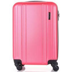 62b03a662730a Modne Walizki Kabinówki 4 kółka renomowanej marki Madisson Różowe (kolory)