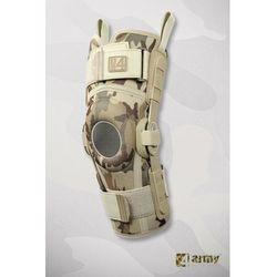 Militarna orteza kolana z szynami policentrycznymi
