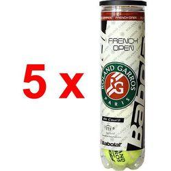 5 x piłki tenisowe BABOLAT ALL COURT French Open Roland Garros (4szt.) API:Promocja dla towaru o ID: 11012 (--297%)
