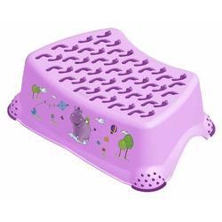 KIDS Hippo Podest Step stool liliowy