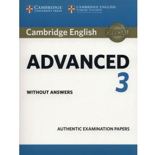 Cambridge English Advanced 3 (opr. miękka)
