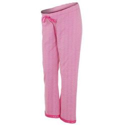Boob Spodnie od piżamy stripe offwhite/sweet fuchsia