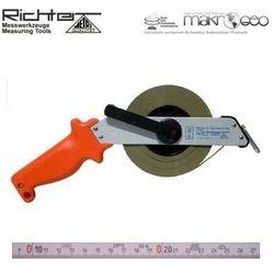 Taśma ruletka Richter stalowa chromoniklowana 474 SR/50m