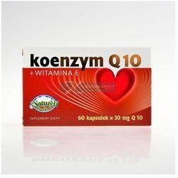 Koenzym Q10 z witaminą E 60 kapsułek