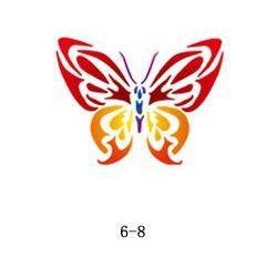 Szablon do błyszczącego tatuażu Fengda 06-08