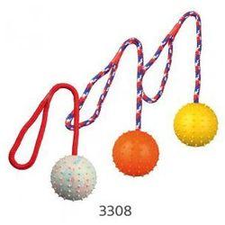 Piłka na sznurku z naturalnej gumy