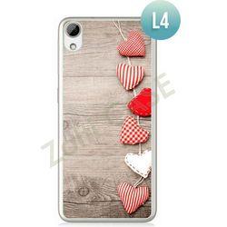 Obudowa Zolti Ultra Slim Case - HTC Desire 626 - Romantic- Wzór L4 - L4