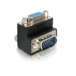 Delock Adapter VGA(15M)->VGA(15M) Kątowy