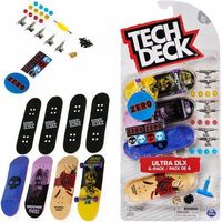 Tech Deck Ultra DLX 4-pack Fingerboardów Zero