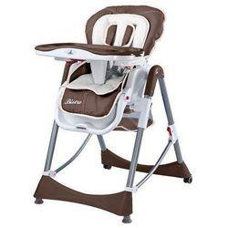 Krzesełko do karmienia Bistro brązowe