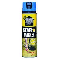 Farba w aerozolu AMPERE Star Marker - niebieski FLUO