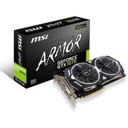 MSI GeForce GTX 1070 ARMOR OC 8GB GDDR5
