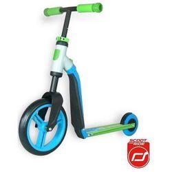 SCOOT & RIDE Hulajnoga i rowerek, Highwaybuddy 2 w 1, błękitno-zielony